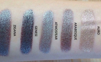 Swatches Mineral EyeShadow