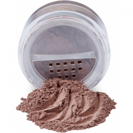 SET MINERAL BRONZER AND BRUSHES