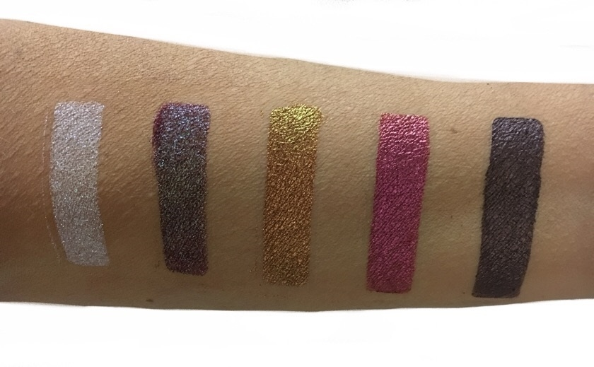 Prospective Collection, gli swatches